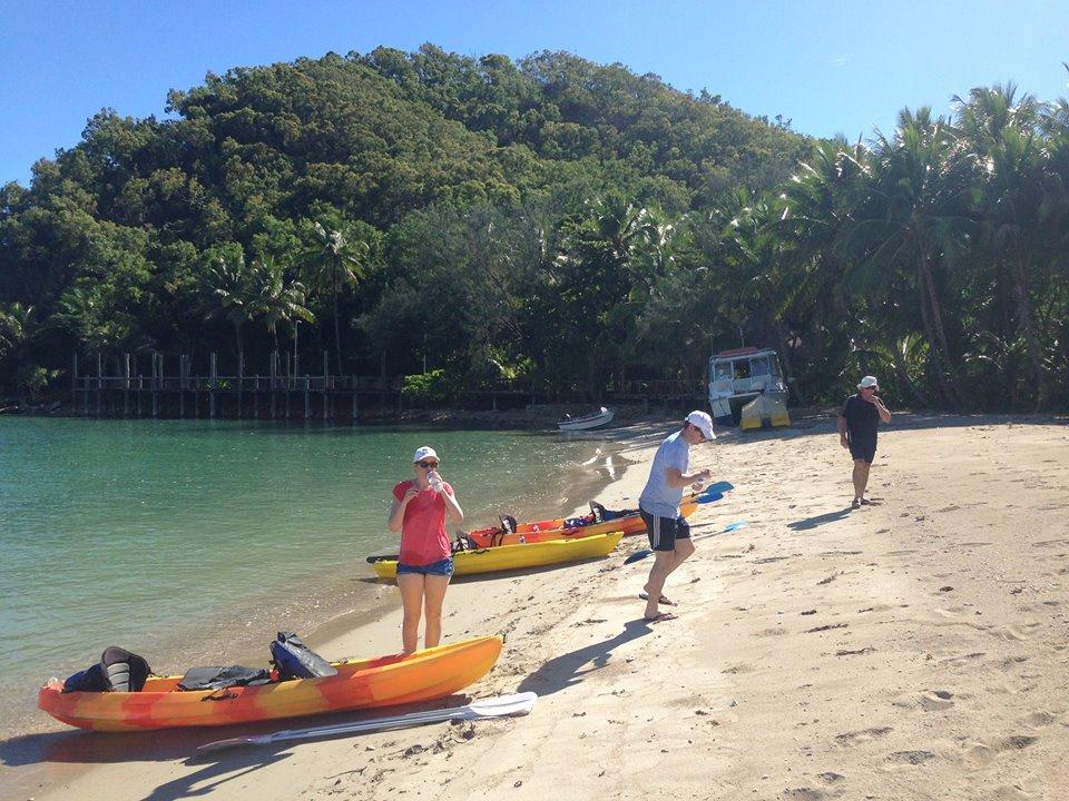 Kayaking Palm Cove