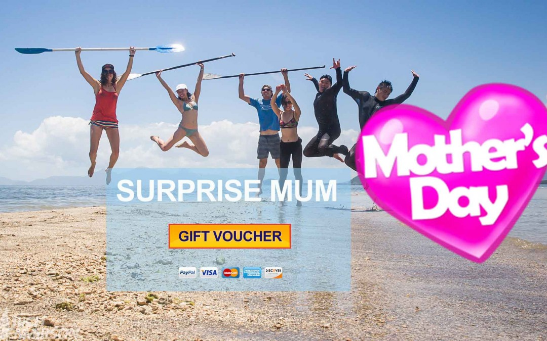 GRAB MUM A GIFT VOUCHER FOR MOTHERS DAY