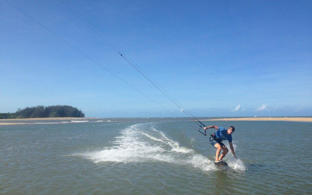 kitesurfing Yorkeys knob