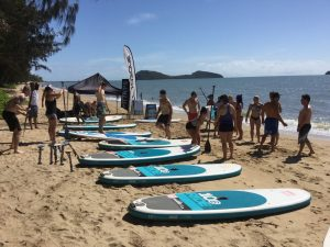 Paddleboarding lessons Palm Cove
