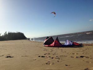 Kiteboarding Yorkeys Knob