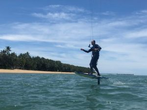 Kite foiling cairns